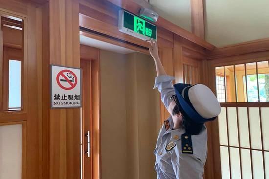 名胜区消防深入景区餐饮企业开展日常检查