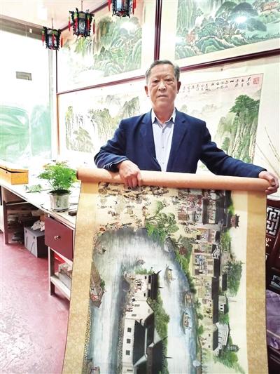 """九江版""""清明上河图""""惊艳亮相"""