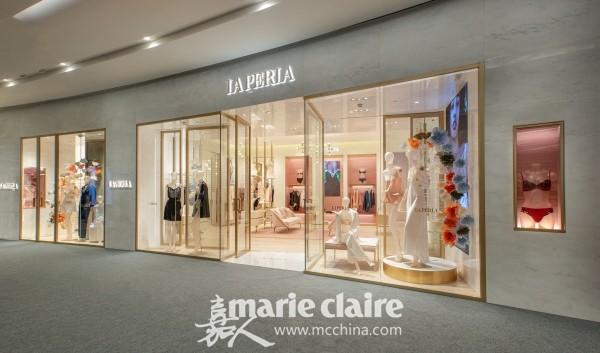LA PERLA携手新晋大中华区品牌大使钟楚曦璀璨揭幕成都IFS全新精品店