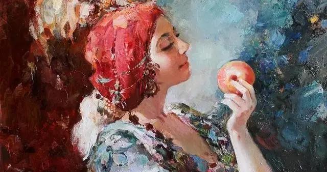 唯美的笔触与色彩~俄罗斯画家卡琳·塔蒂亚娜的油画作品欣赏