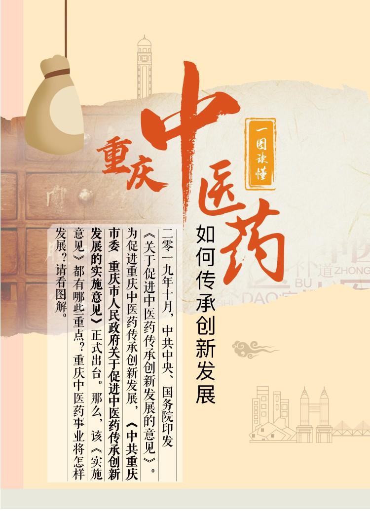 重庆中医药如何传承创新发展?一图看懂图片