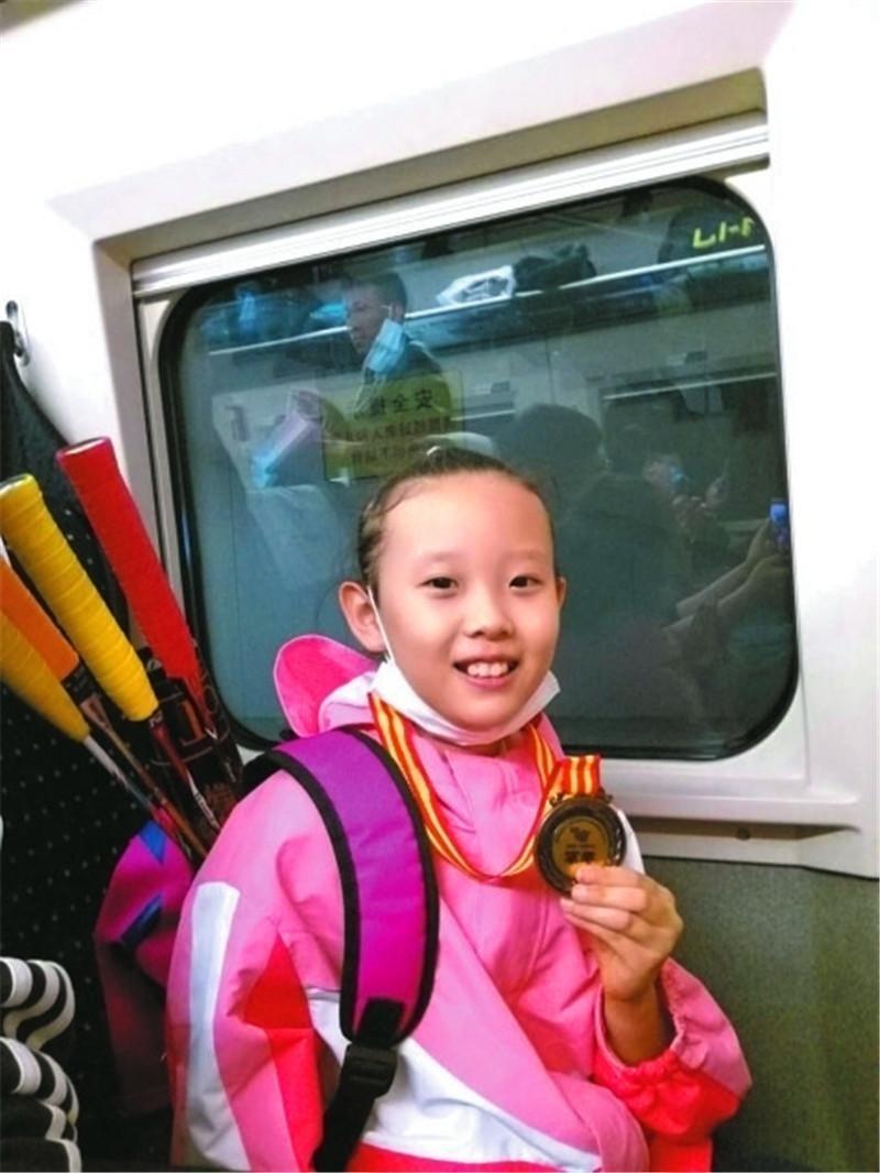 衡水市小运动员孙韵迪杀入全国青少年羽毛球赛年终总决赛