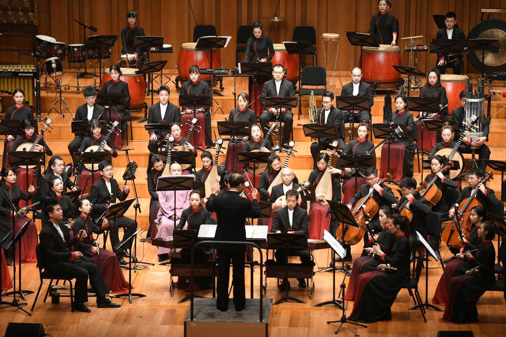国家大剧院首演管弦乐组曲《中轴》图片