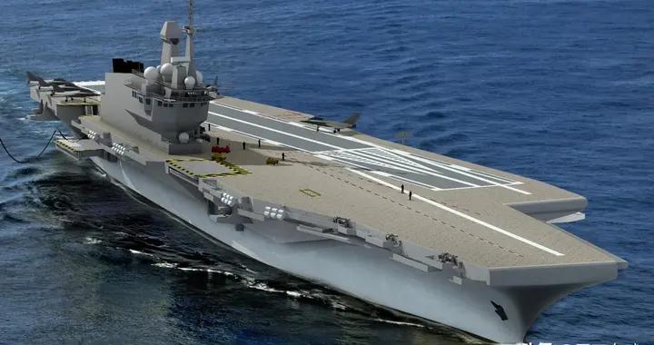 法国下一代航母确定开建,采用核动力+电磁弹射,排水量超7万吨