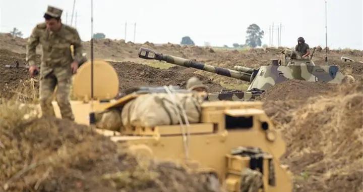 阿军T-90全线出击,抢占关键战略要点,亚美尼亚伤亡惨重