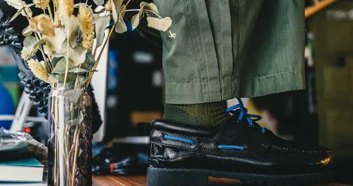 添柏岚与Chinatown Market联名推出帆船鞋