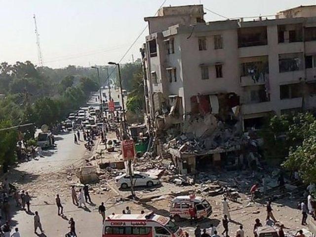 巴基斯坦卡拉奇时隔一天又发生爆炸,已造成至少3死15伤