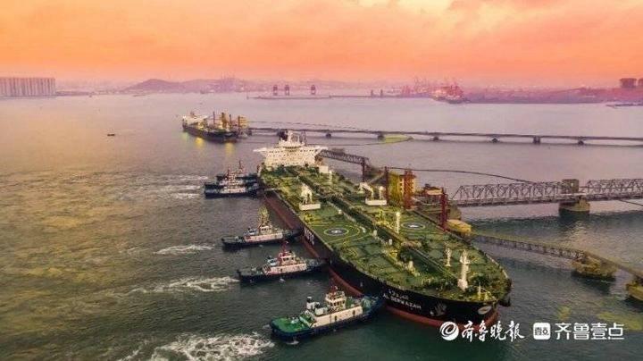 288天!山东港口青岛港油品板块吞吐量提前10天超亿吨