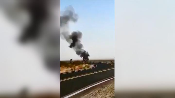 """又掉一架!美国一架F/A-18E战机在""""中国湖""""附近坠毁"""