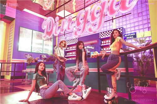 MAMAMOO先公开曲《Dingga》 12个地区iTunes排行榜1位