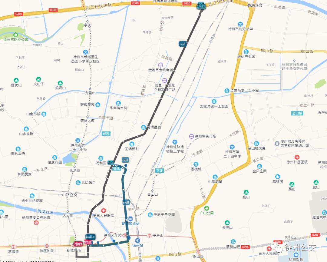 注意!10月21日起,徐州这10条公交线路有变化