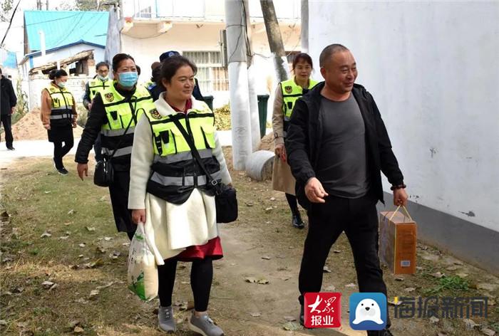 重阳将至 单县爱心企业联合仁義救援队开展慰问活动