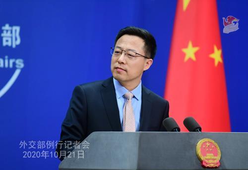 外交部就新冠肺炎疫苗、美方滋扰中国留学人员等答问图片