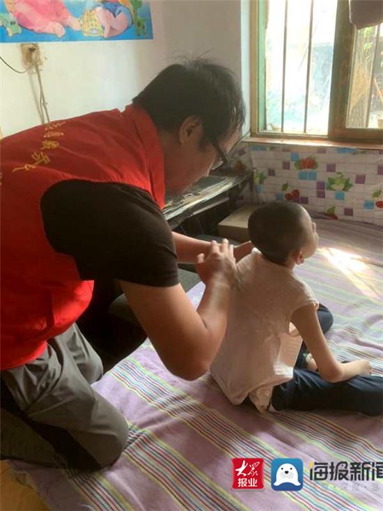 淄博市特教中心:助力教育康复 送教上门再出发