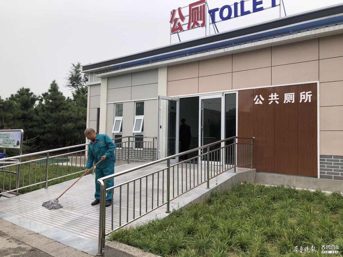 """让""""方便""""更方便,济宁太白湖新区23座公厕向市民开放"""