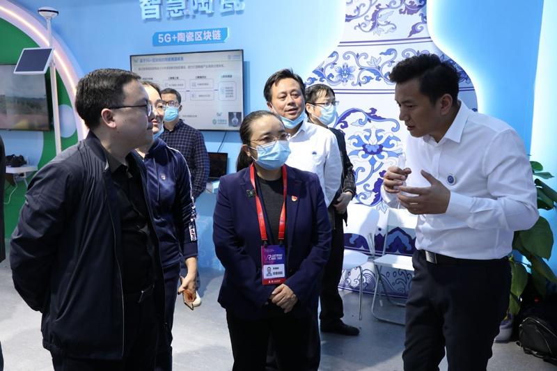 浔阳区组团观摩2020世界VR/AR产品和应用展览会