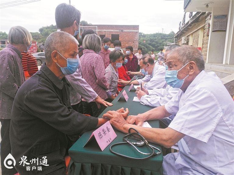 泉州市委老干部局深入安溪县金谷镇丽山村开展扶贫活动