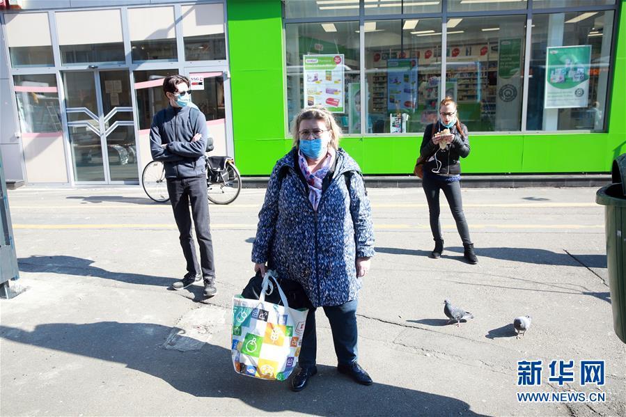 罗马尼亚首都布加勒斯特新冠病毒感染率超警戒线