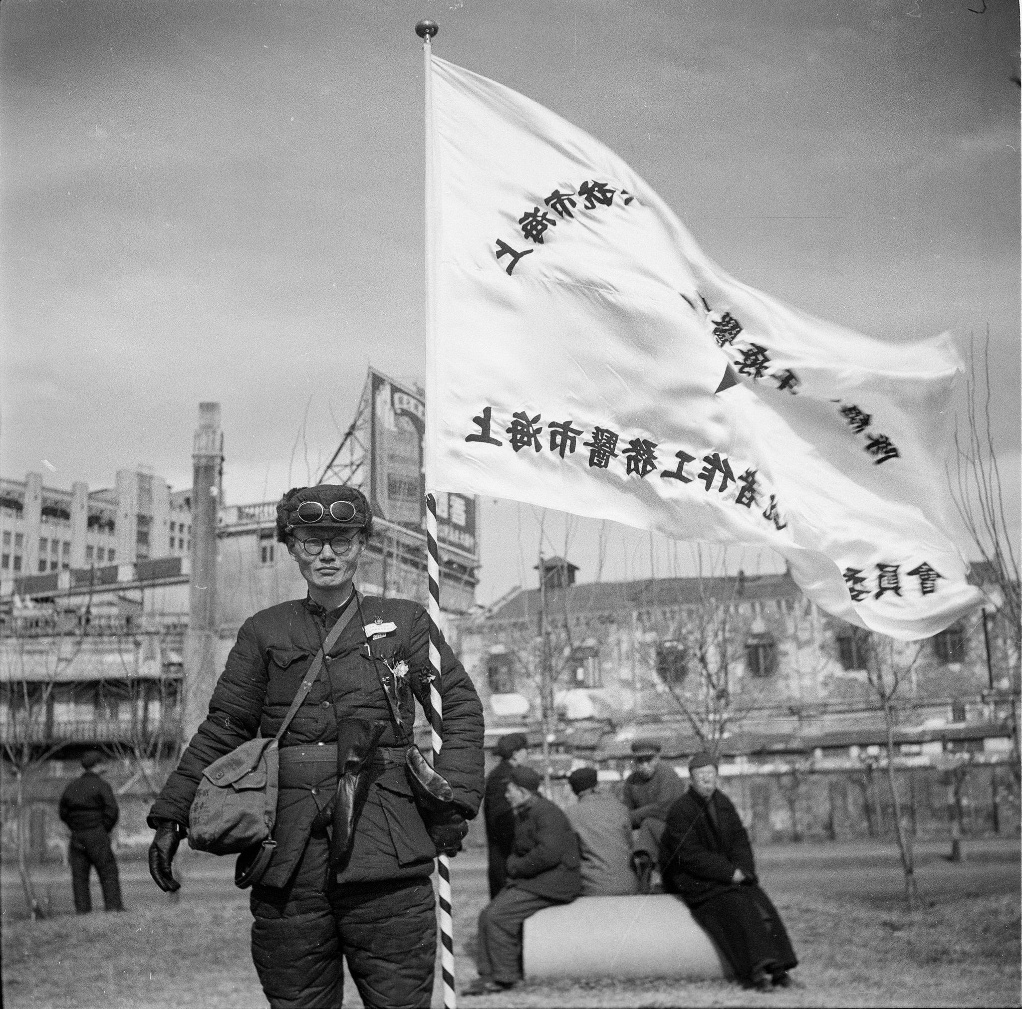 【海上记忆】手握抗美援朝医疗队旗帜的人