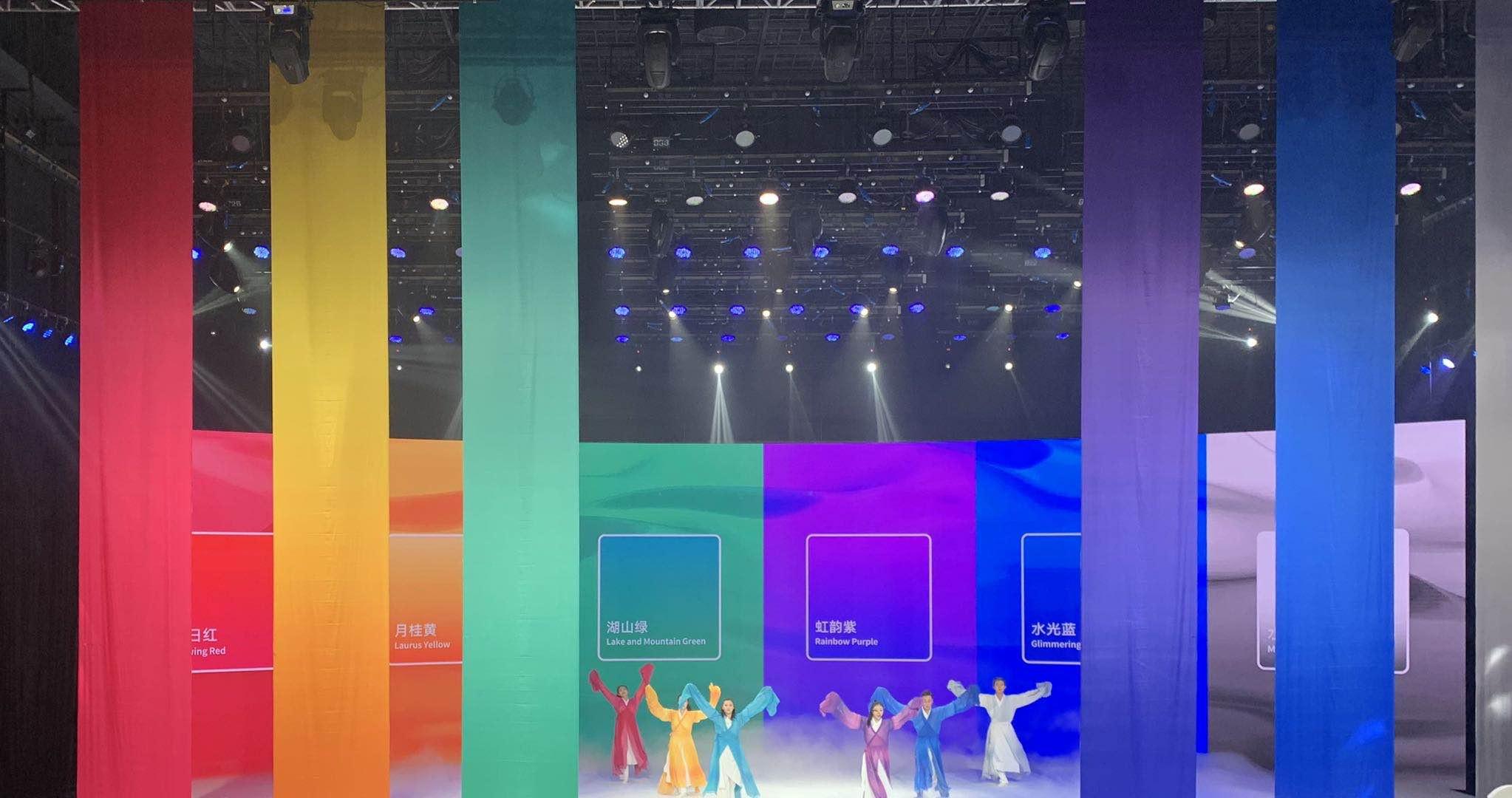 """杭州亚运会核心图形发布:主题为""""润泽"""" 灵感源自丝绸图片"""