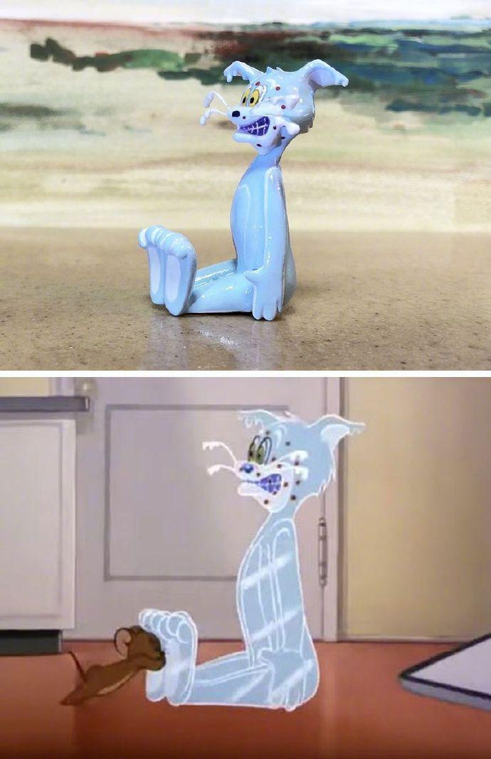 日本致力于还原《猫和老鼠》的手办艺术家