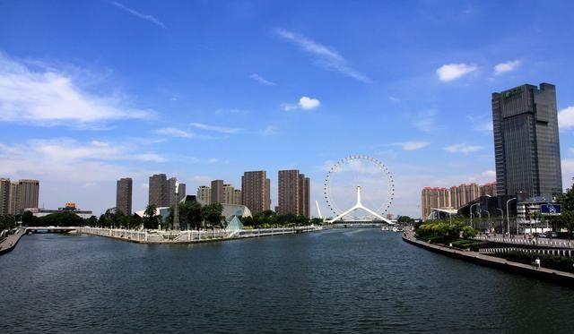天津滨海新区新地标诞生 耗资一个亿 配套游船大海沙滩齐全