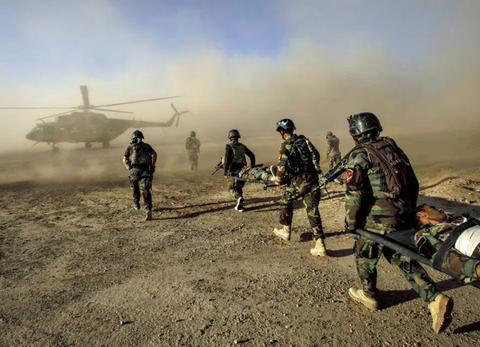 阿富汗特种兵大批死亡,塔利班击落米17直升机,美军憋不住出手