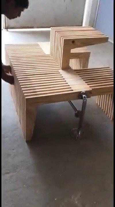 这椅子的设计,让人不得不佩服劳动人民的智慧
