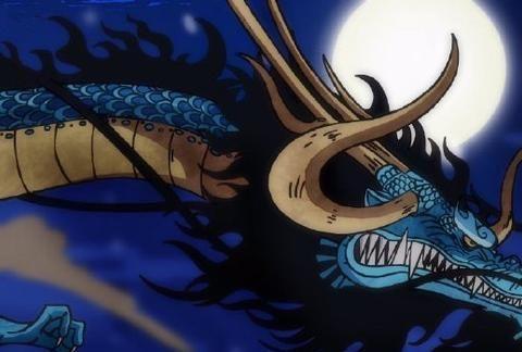 海贼王993话,凯多不愧神龙果实能力者,拥有风火雷三大攻击手段