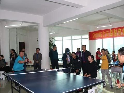 """左云县教育系统""""庆国庆""""首届乒乓球赛落幕"""