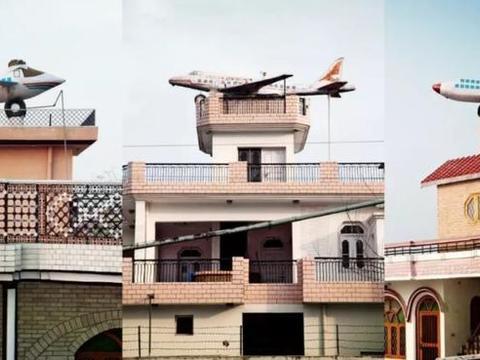 世界上一奇葩村庄,家家户户房顶有飞机,男子蓄发极为普遍