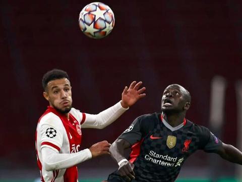 欧冠-马内造乌龙法比尼奥门线解围 利物浦1-0阿贾克斯