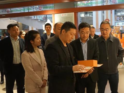 中国侨联副主席齐全胜及省市侨联领导一行到亮宝楼调研指导工作