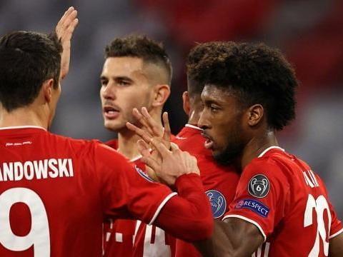 又是他!拜仁24岁4000万先生爆发,13分钟1球1助,马竞被打爆!