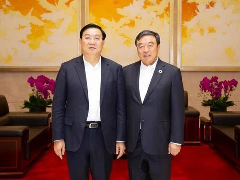 中企会主席马蔚华一行与成都市长王凤朝等领导座谈交流