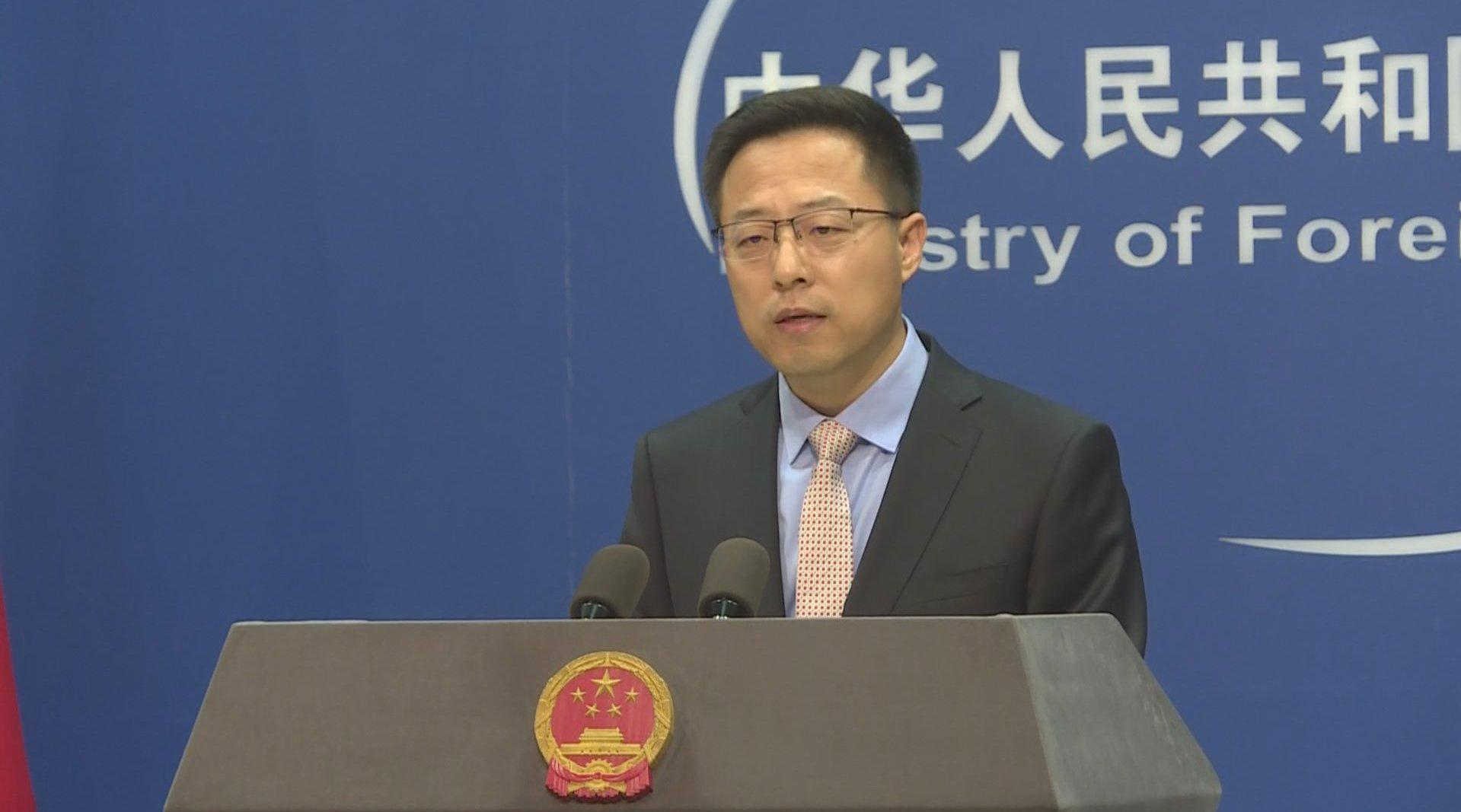 外交部发言人答深圳卫视记者问:蓬佩奥不必枉费心机