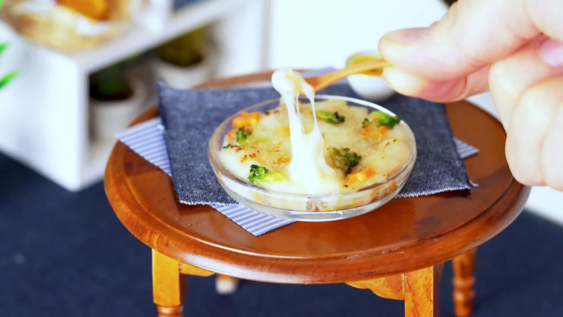 小小起司日式多利亚饭