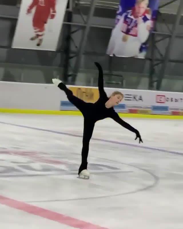 Alena Kostornaia 新自由滑的片段