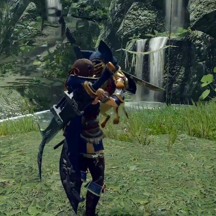 在《怪物猎人:崛起》中,你可以撸狗逗猫..