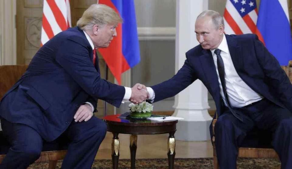 """特朗普曾求普京帮忙,时隔6个月,""""来自俄罗斯的爱""""被直接摧毁"""