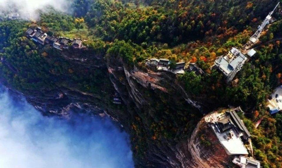 甘肃省陇南市成县的鸡峰山国家级森林公园……