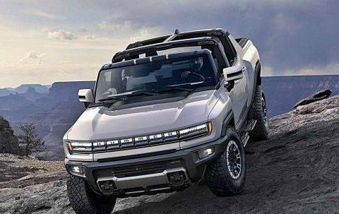 悍马变身电动超级皮卡,全球首发最大马力千匹,扭矩达一万五牛米