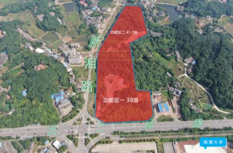 湘潭市自然资源与规划局供地信息-北二环路以南、新湘路以西地块