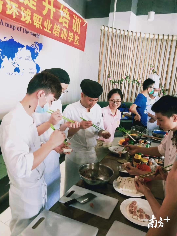 """传承烹饪技艺,惠东举办""""粤菜(东江菜)师傅""""培训班"""