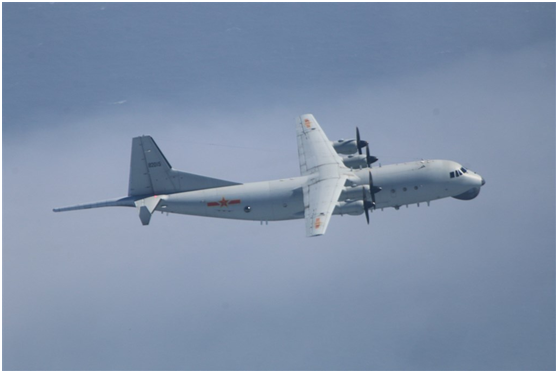 解放军运-8反潜机 。图源:台湾防务部门官网