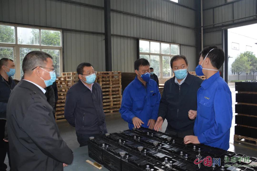 生态环境部固管中心调研四川崇州固废污染防治工作