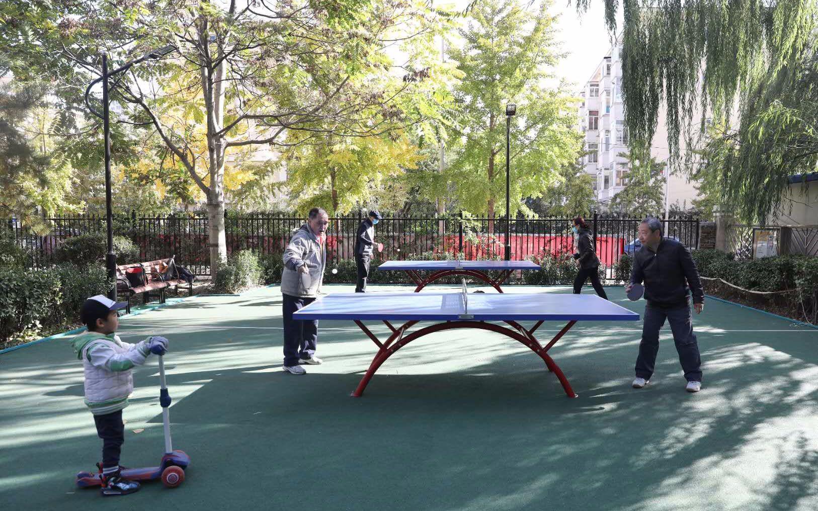 北京朝阳试点建成两个老年宜居环境示范社区图片