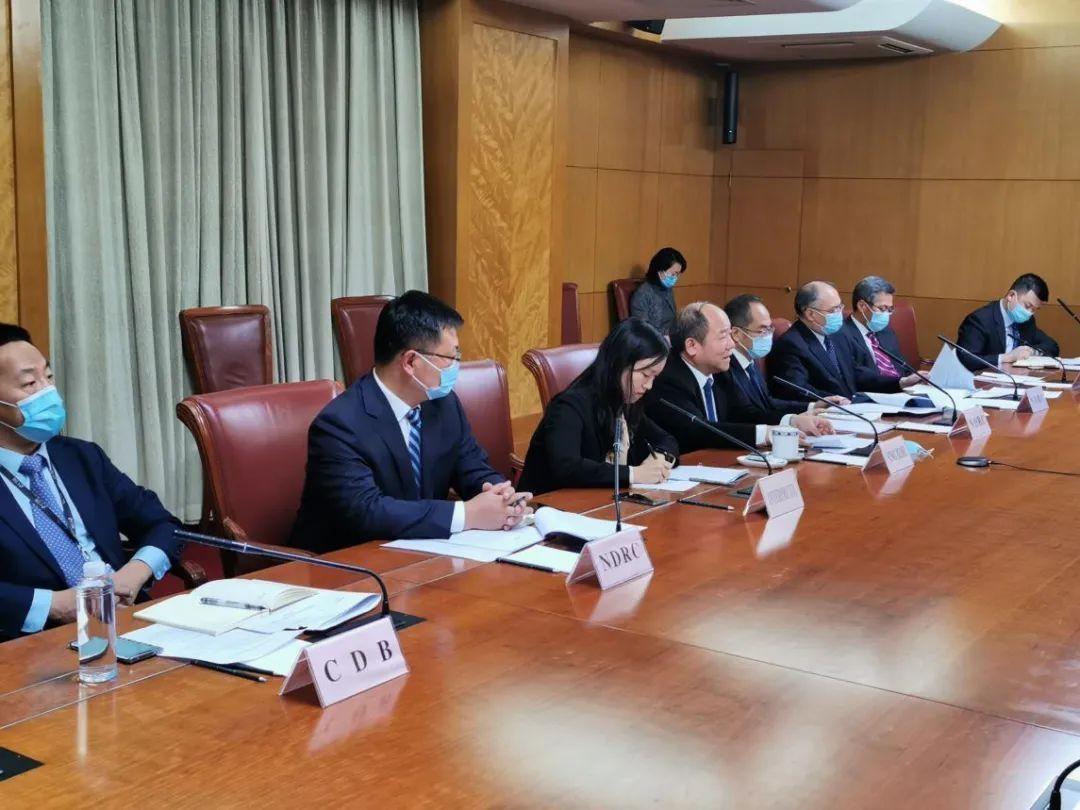 中俄投资合作委员会第十五次秘书长会议召开