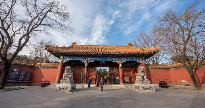 北京第一名山,高度仅42.6米,却是欣赏故宫全景的最佳处