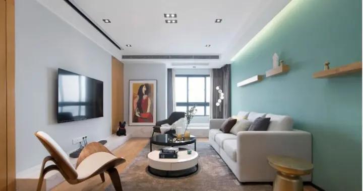 90平米的二居室装修只花了8万,北欧风格让人眼前一亮